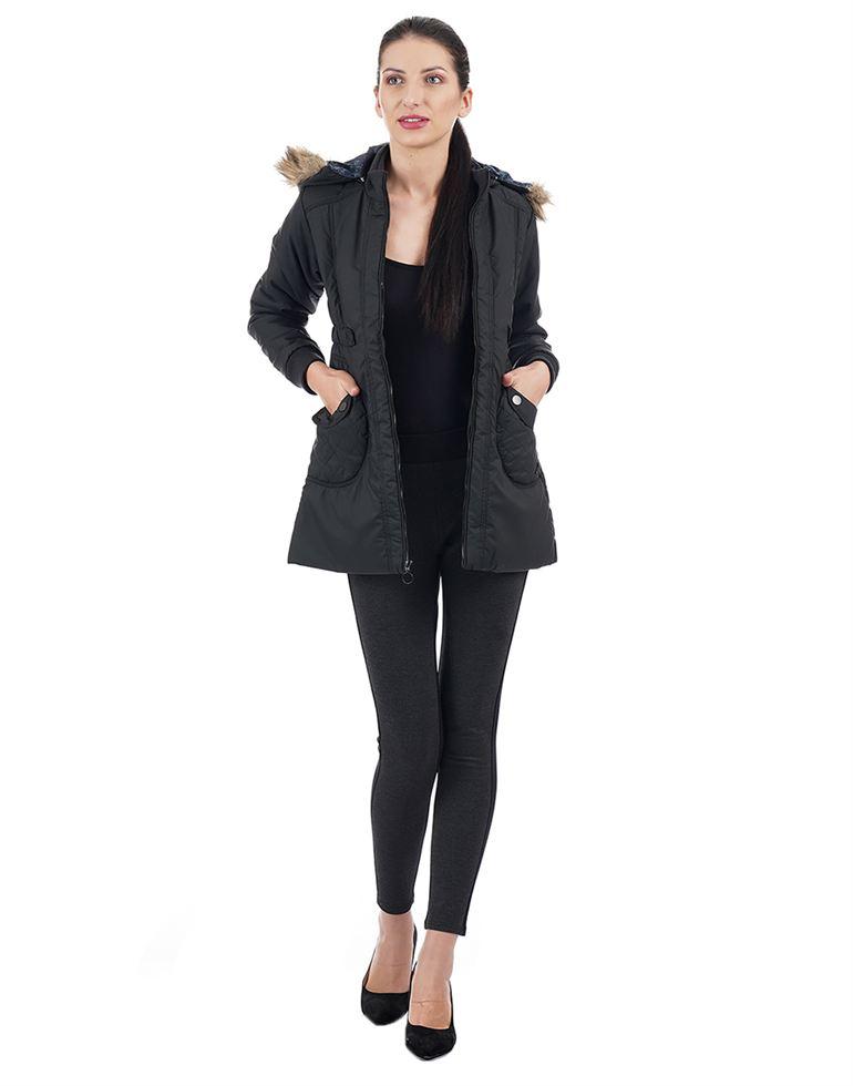 Monte Carlo Women Black Jacket