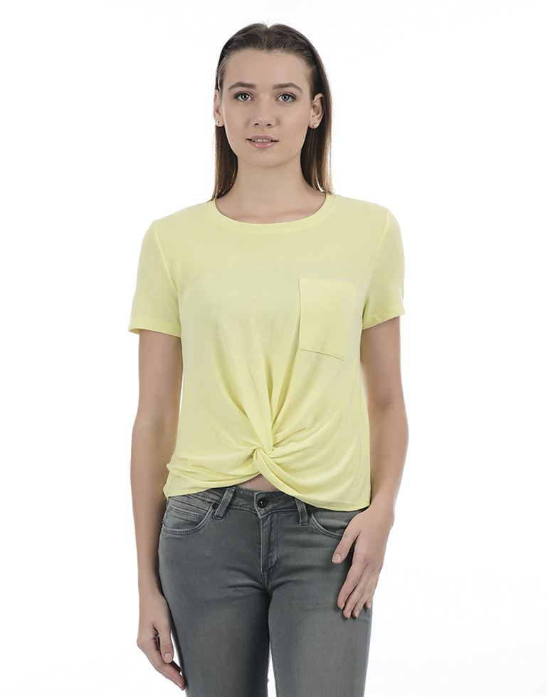 Only Casual Solid Women Top