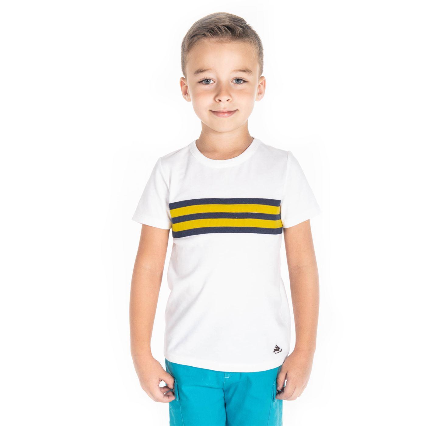409108ef Cherry Crumble California Boys Casual Wear Striped T-Shirt ...
