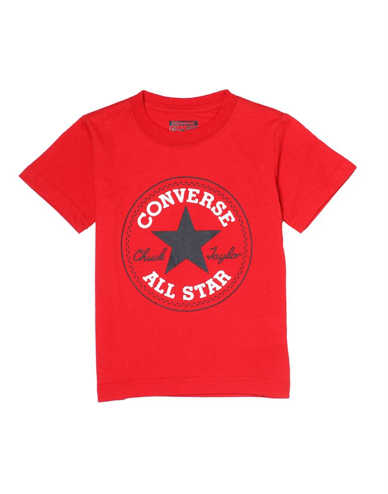 Converse Boys Red T-Shirt