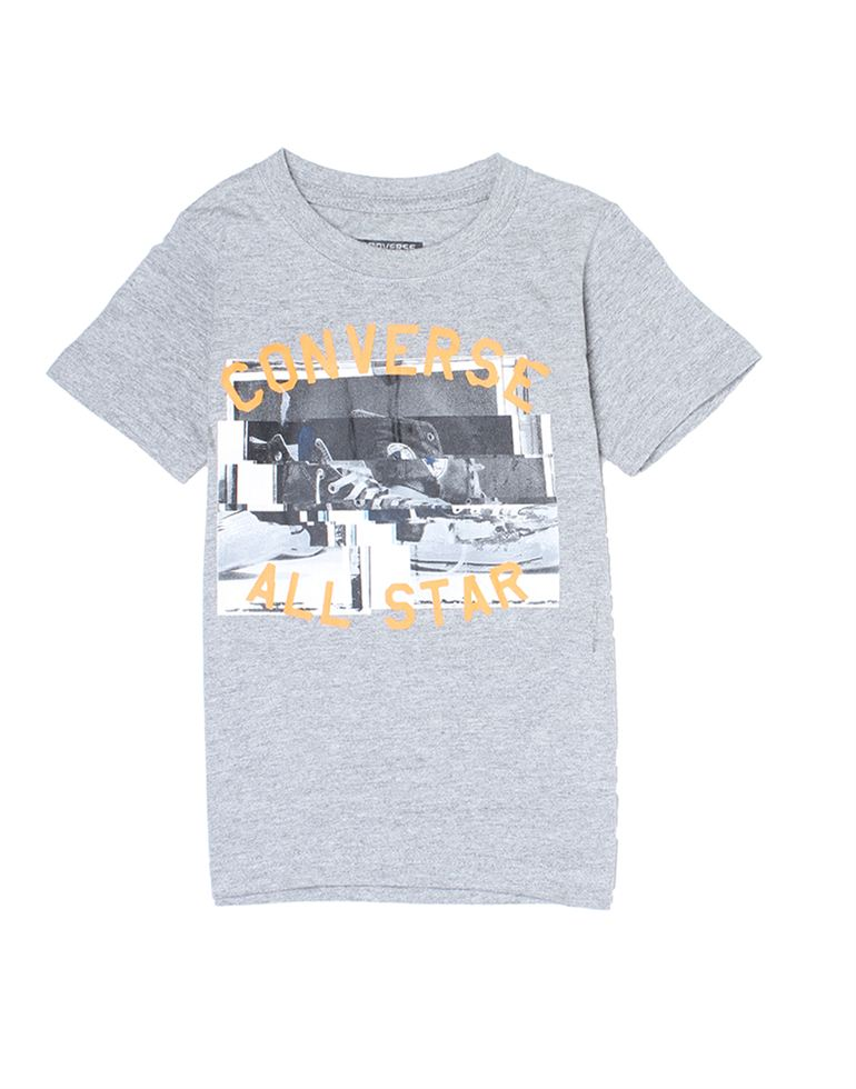 Converse Boys Grey T-Shirt