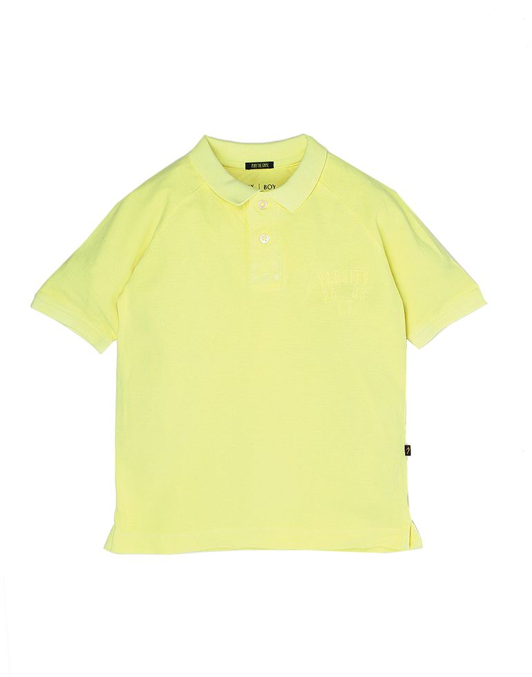 Indian Terrain Boys Yellow Casual T-Shirt