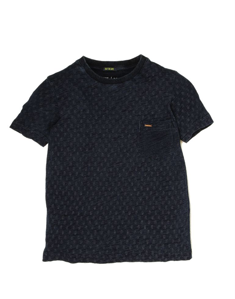 Indian Terrain Boys Blue Casual T-Shirt