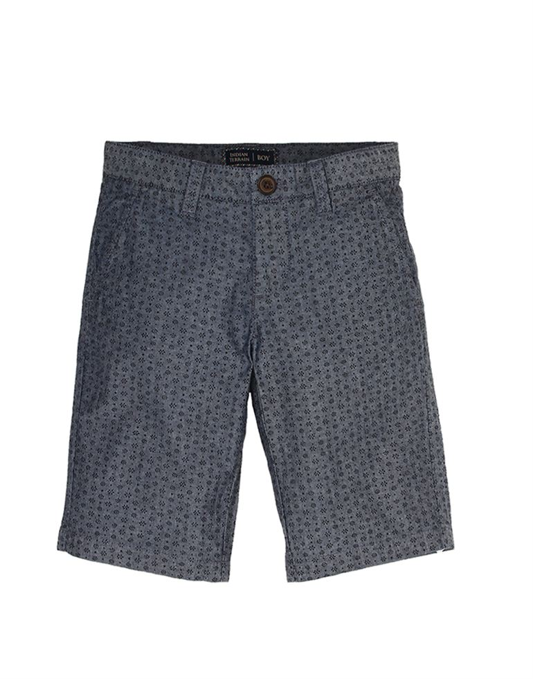 Indian Terrain Casual Printed Boys Shorts
