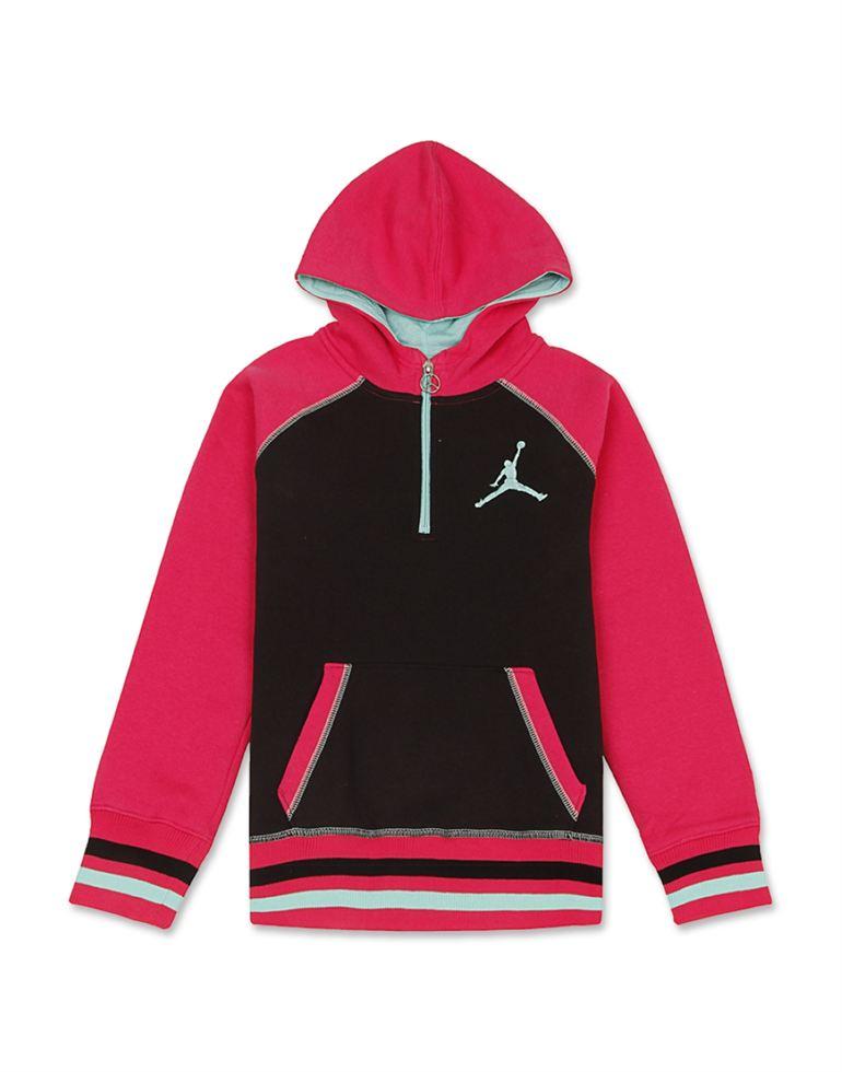 Jordan Girls Casual Wear Solid Sweatshirt