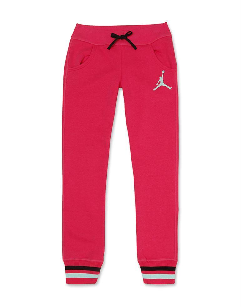 Jordan Girls Pink Solid Bottom
