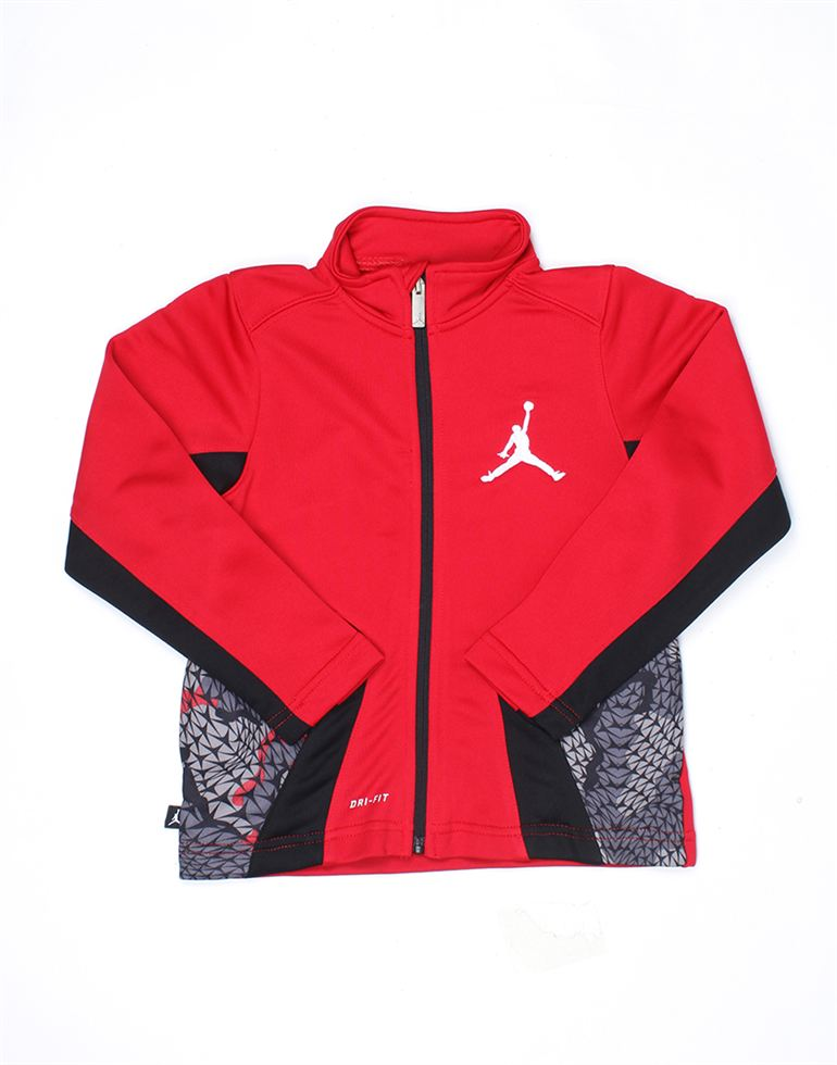 Jordan Boys Red Solid Jacket