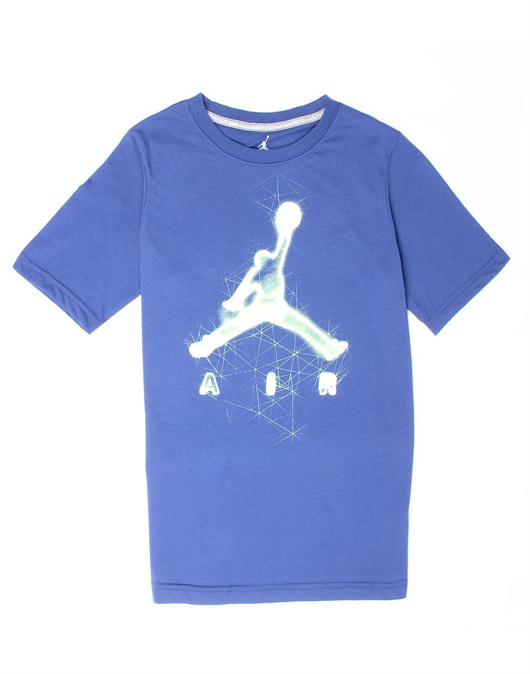 Jordan Boys Casual Wear Printed T-Shirt