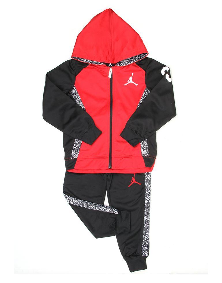 Jordan Boys Casual Wear Solid Tracksuit