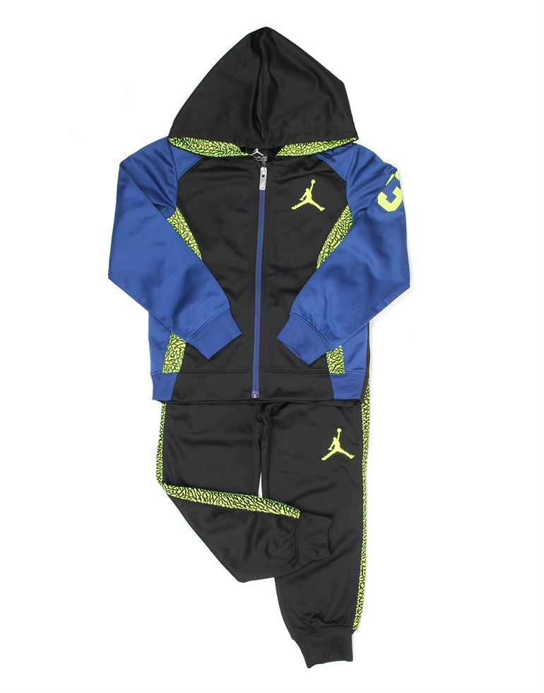 Jordan Boys Casual Wear Solid Tracksuit