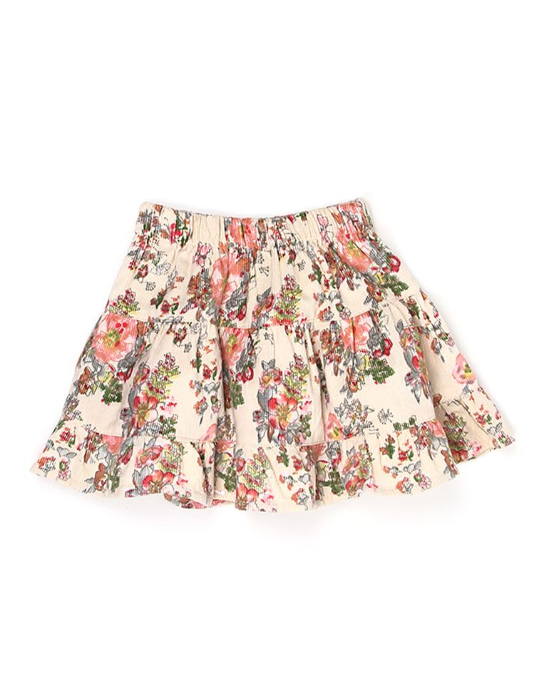 K.C.O 89 Girls Casual Printed  Skirt