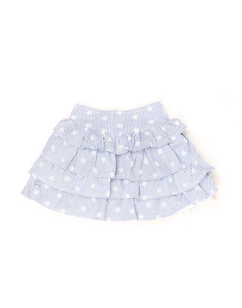 K.C.O 89 Baby Girls Casual Striped  Skirt