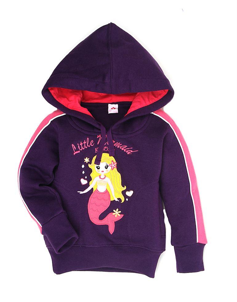 K.C.O 89 Casual Applique Girls Sweatshirt