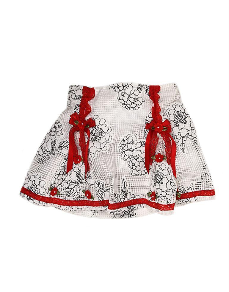 K.C.O 89 Party Printed Girls Skirt