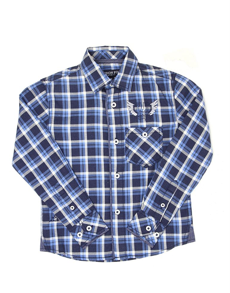 London Fog Boys Blue Shirt