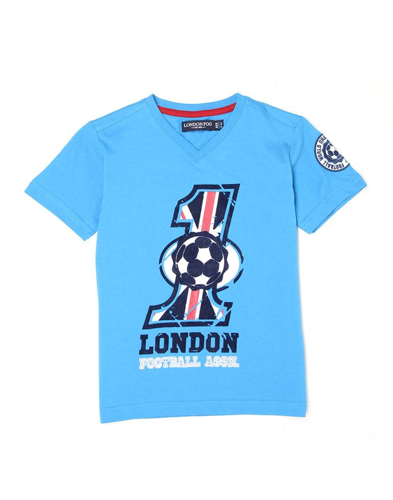 London Fog Boys Blue T-Shirt