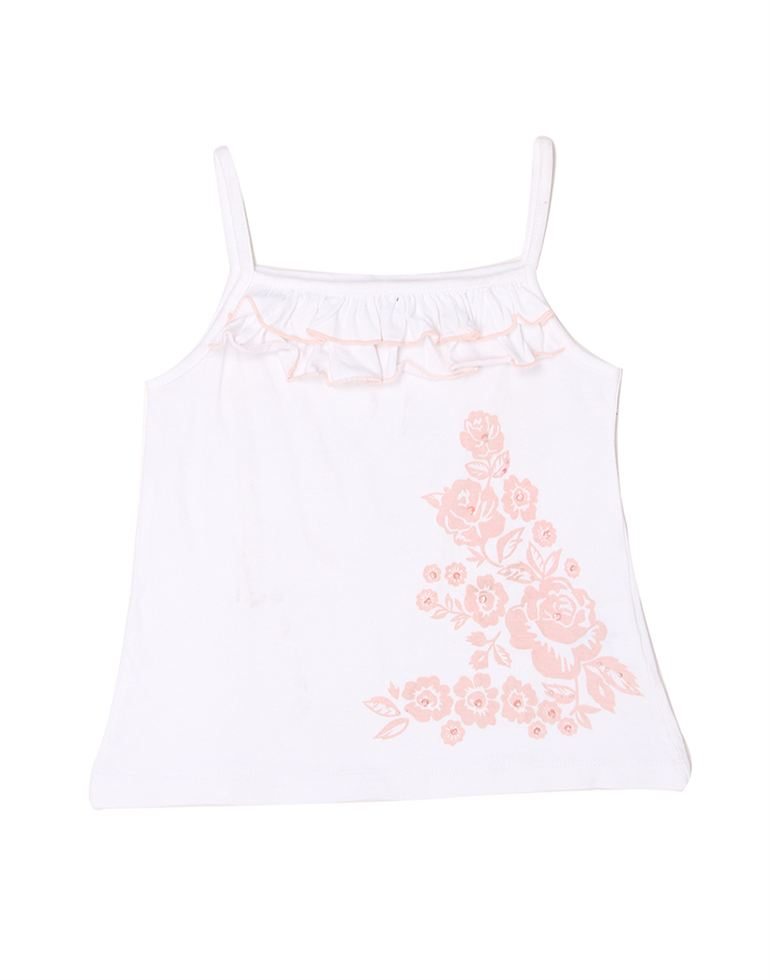 London Fog Girls White Top