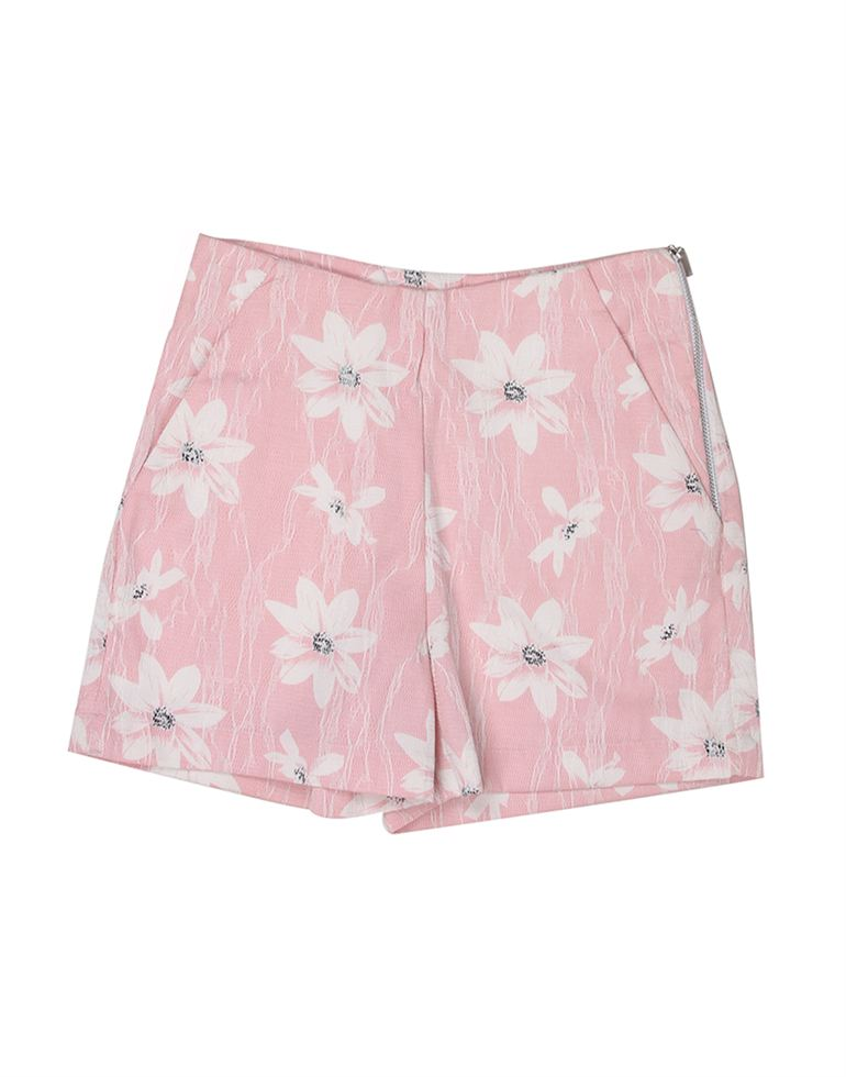 London Fog Girls Pink Shorts