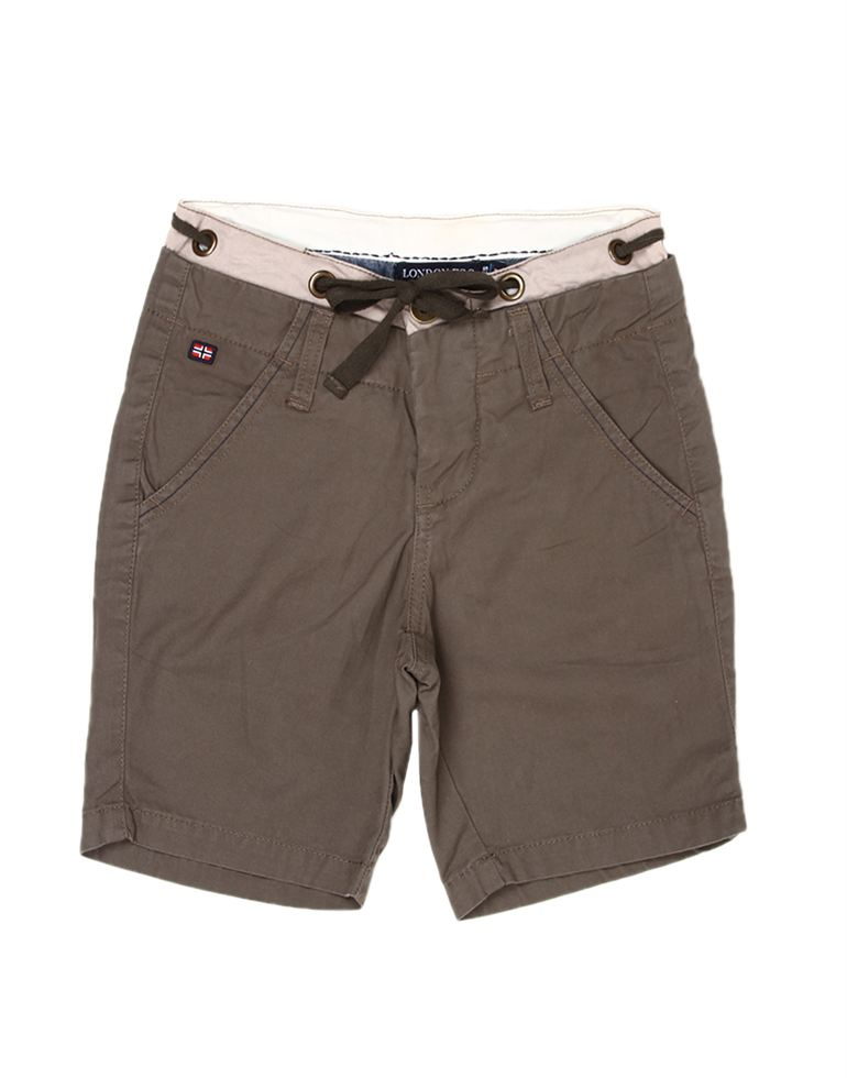 London Fog Boys Brown Shorts