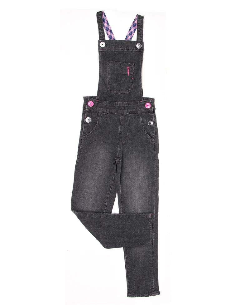 London Fog Girls Black Jump suit