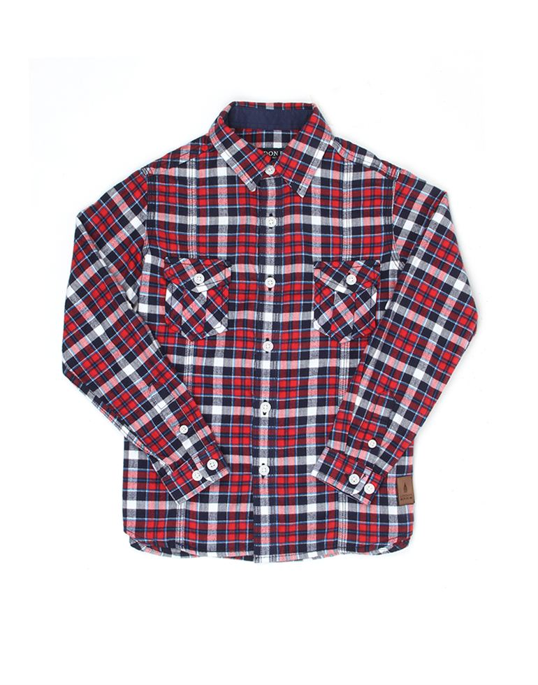 London Fog Boys Red Shirt