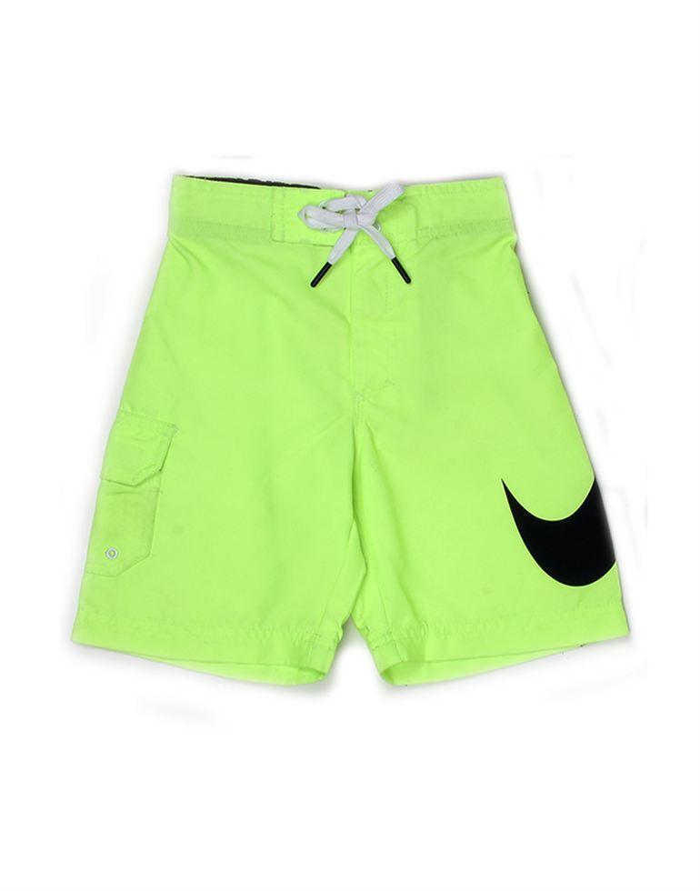 Nike Green Polyester Boys Shorts