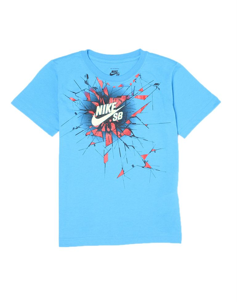 Nike Boys Casual Wear Graphic Print T-Shirt