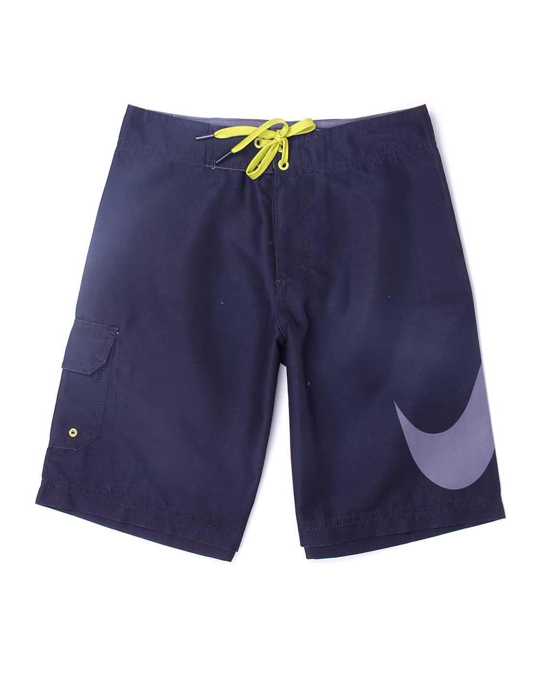 Nike Black Polyester Boys Shorts