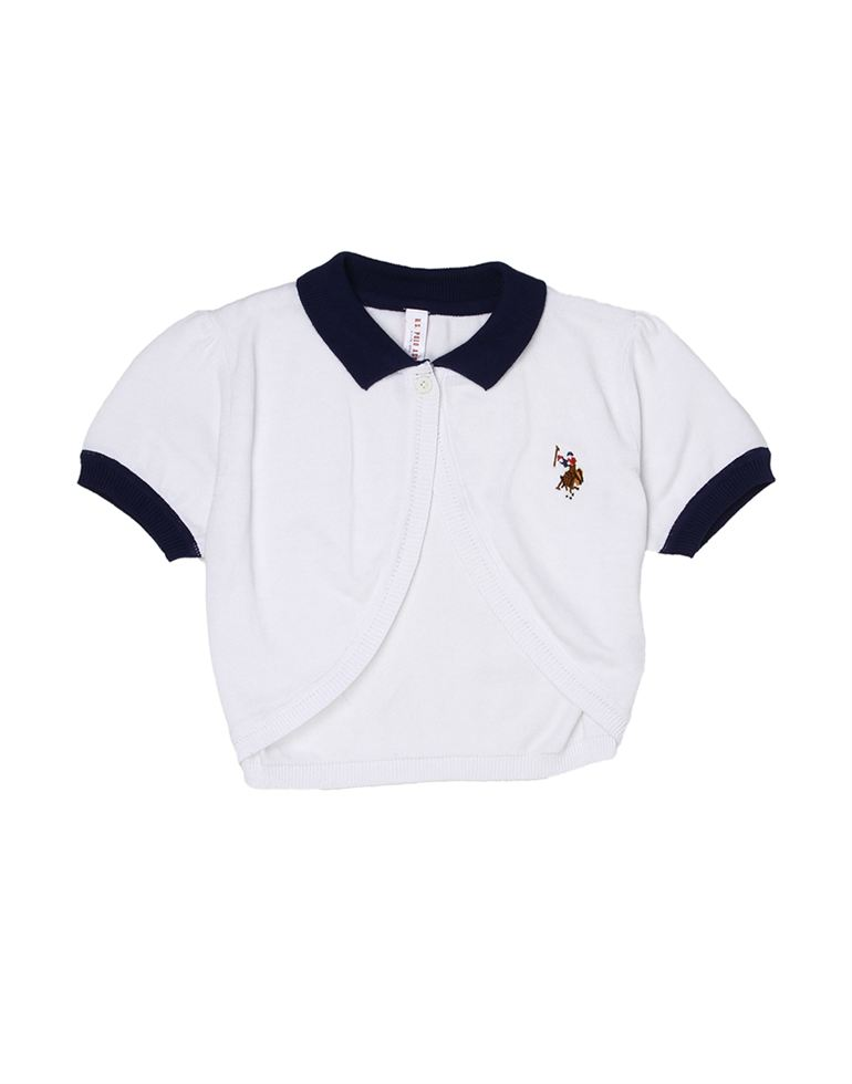 U.S. Polo Assn. Casual Solid Girls Shrug