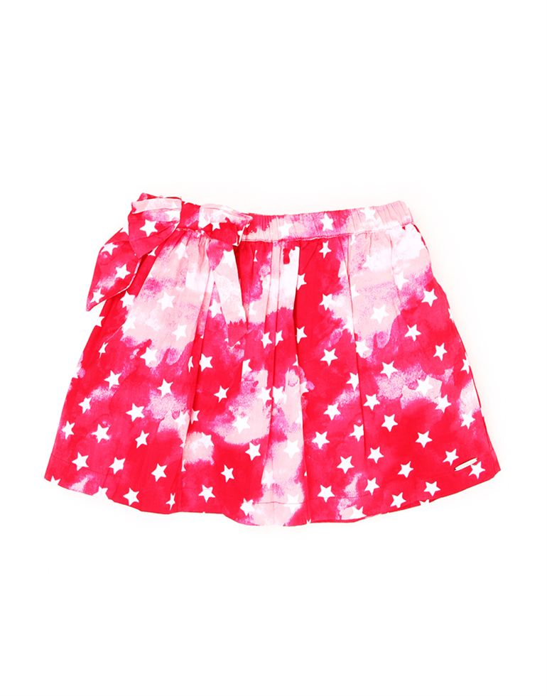 U.S. Polo Assn. Casual Printed Girls Skirt
