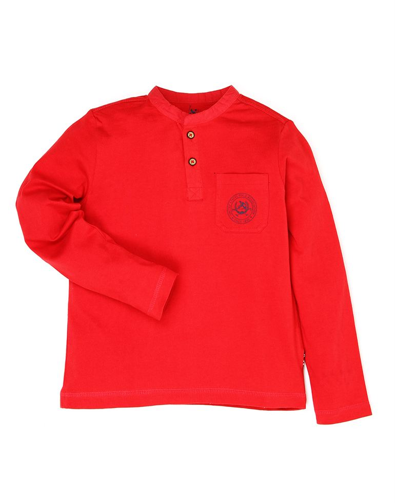 U.S. Polo Assn. Boys Casual Wear Solid T-Shirt
