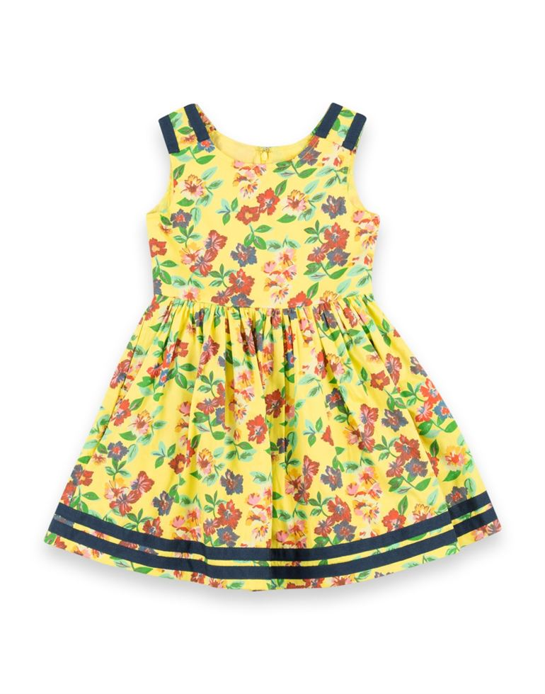U.S. Polo Assn. Casual Printed Girls Dresses