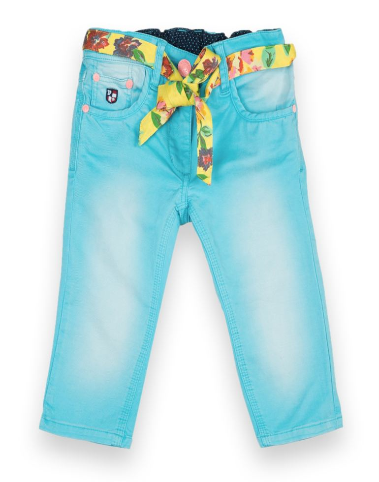 U.S. Polo Assn. Casual Solid Girls Capri