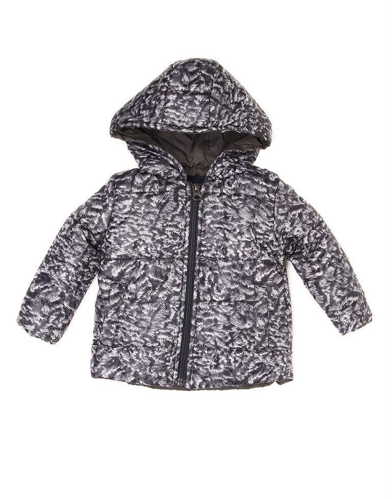 Wingsfield Black Baby Boy Winter Wear Jacket