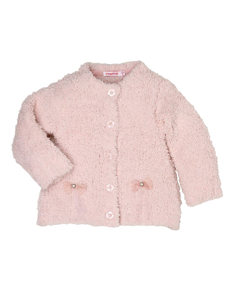 Wingsfield Casual Solid Girls Sweater