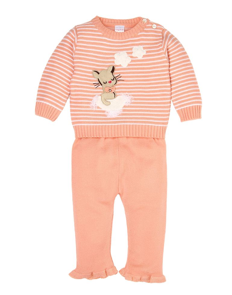 Wingsfield Casual Striped Girls Set