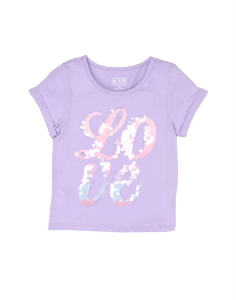 The Children'S Place Casual Printed Girls Top