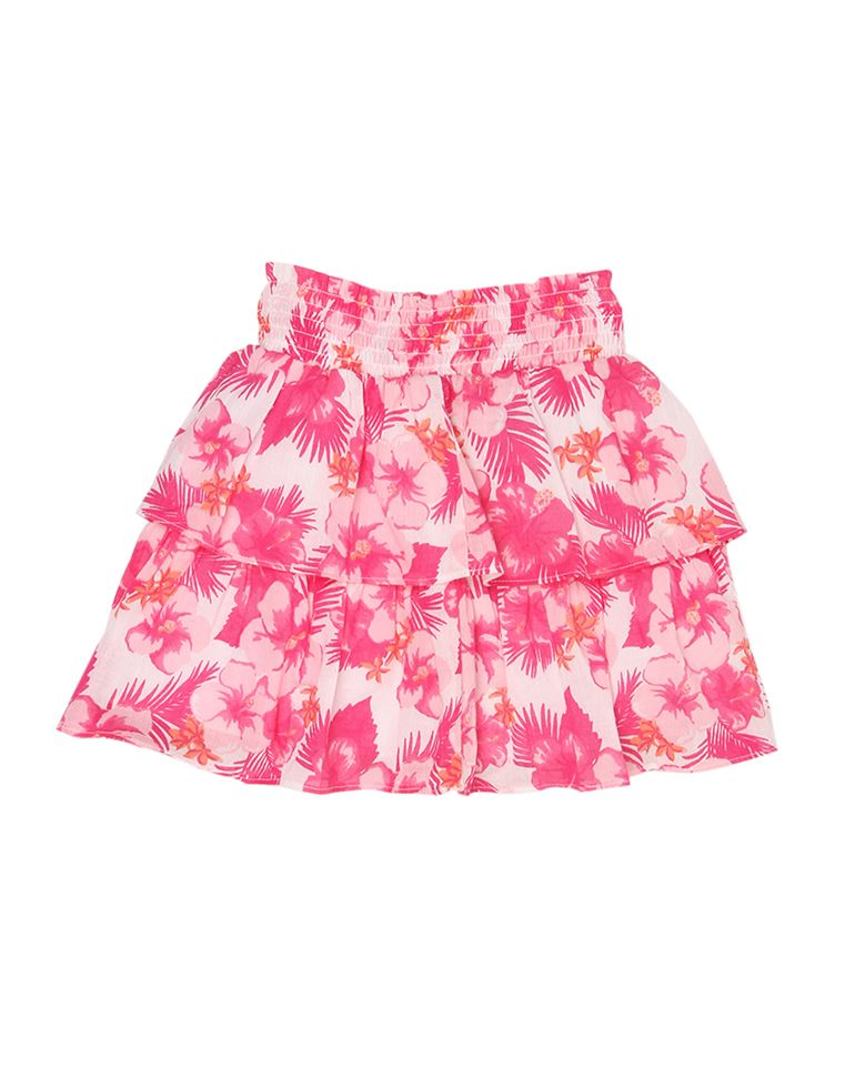 The Children'S Place Casual Floral Print Girls Skirt