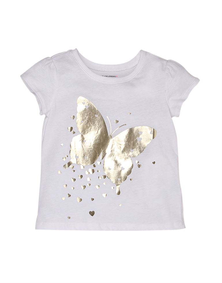 The Children'S Place Casual Graphic Print Girls Top