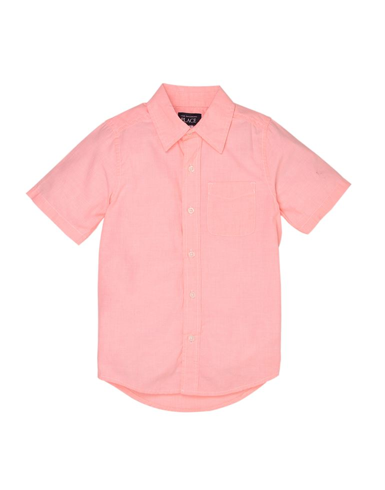 The Children'S Place Casual Solid Boys Shirt