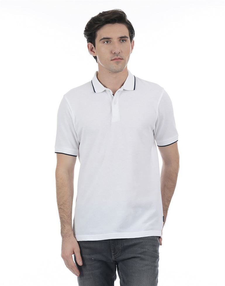 London Fog Men White Shirt