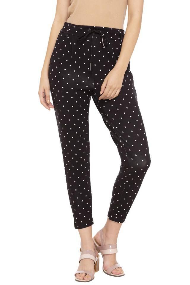 Only Women Casual Wear Polka Dots Trouser
