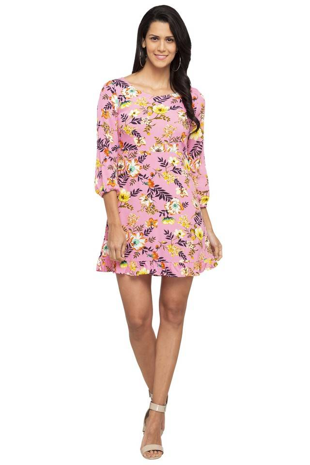 Only Women Casual Wear Floral Print Dress