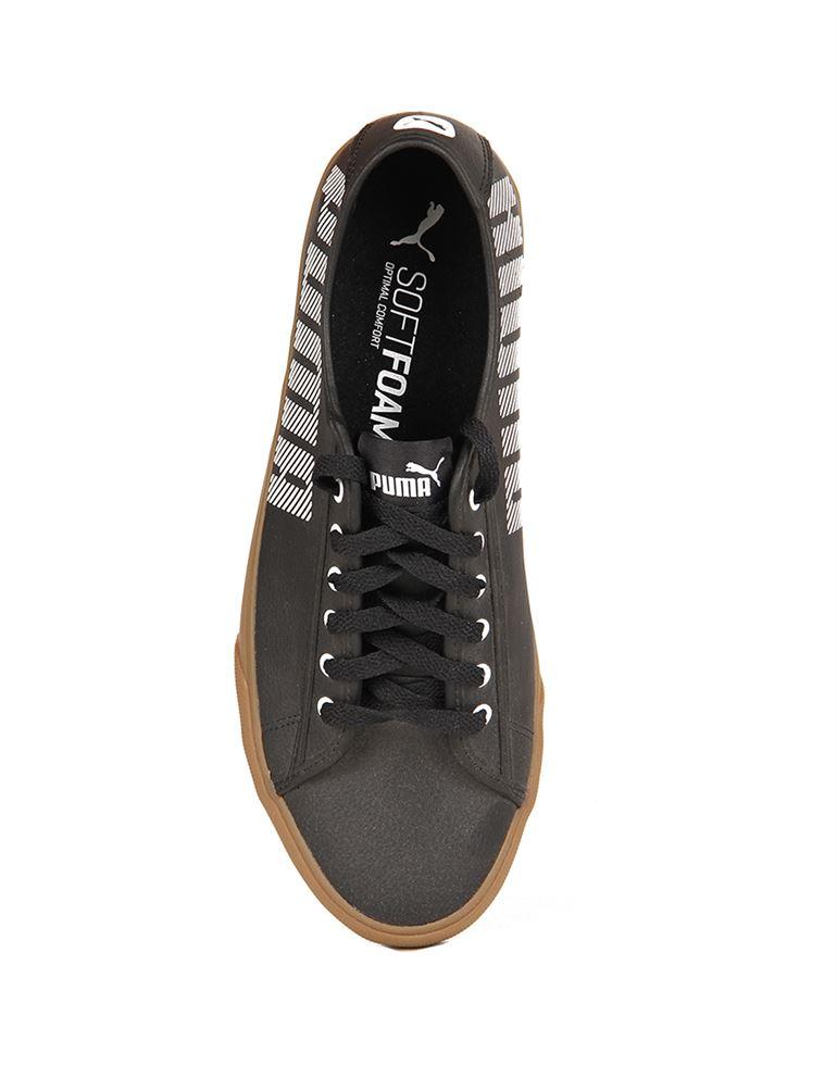 Puma Unisex Puma Black-Puma White Sneakers