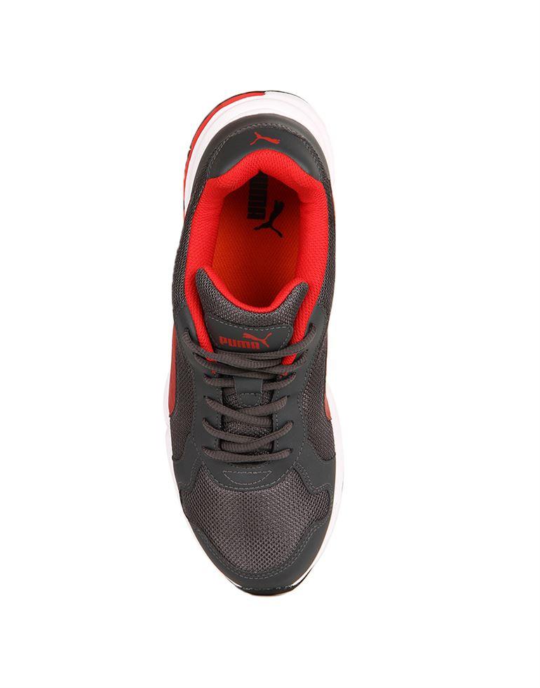 Puma Men Dark Shadow-High Risk Red Sports Shoes
