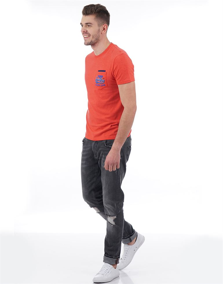 Superdry Casual Solid Men T-Shirt