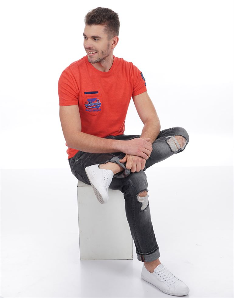 Superdry Men Casual Wear Solid Polo T-Shirt