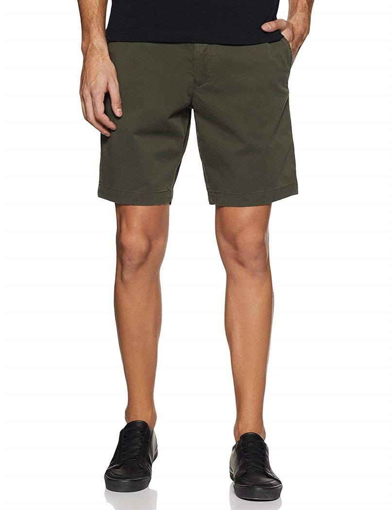 Tommy Hilfiger Men Casual Wear Solid Shorts