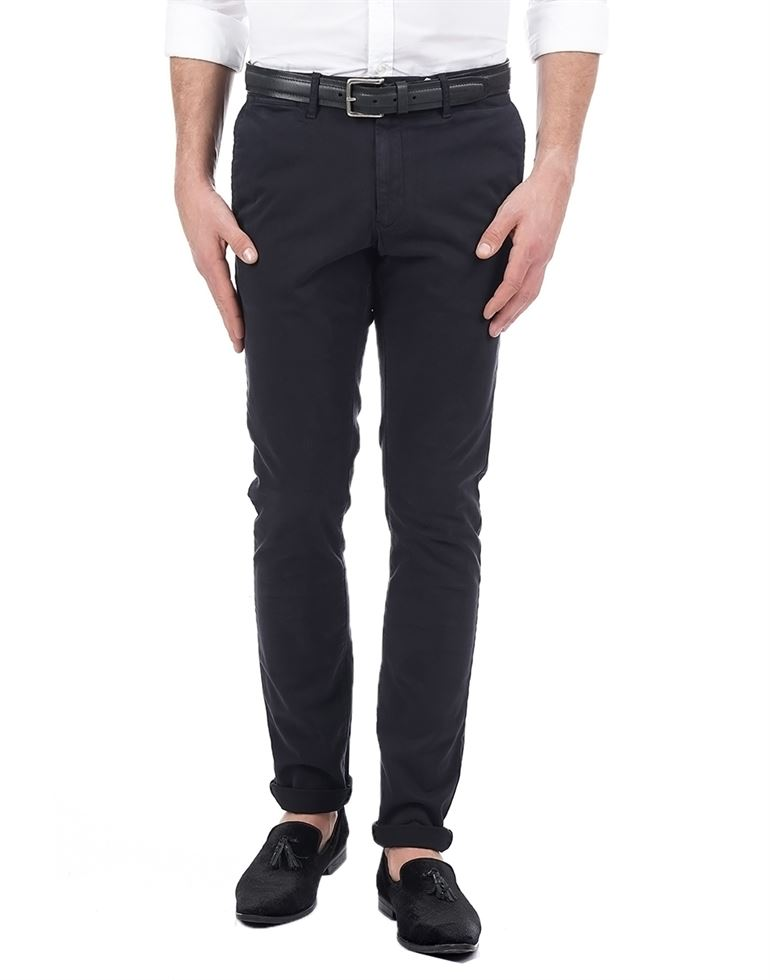 Tommy Hilfiger Casual Solid Men Pant