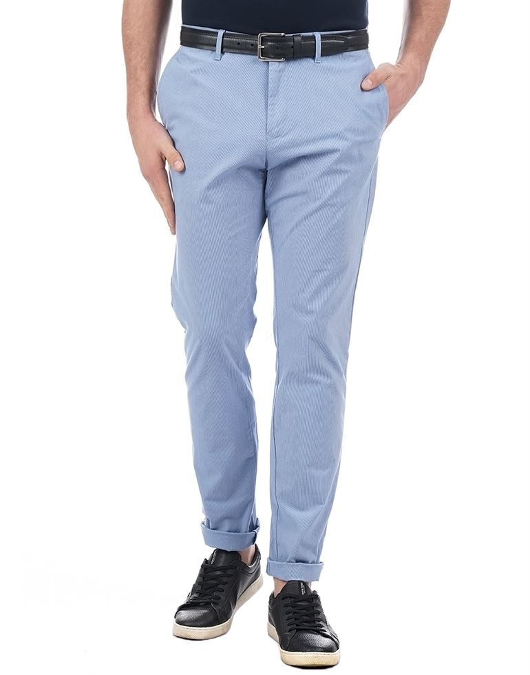 Tommy Hilfiger Casual Striped Men Pant